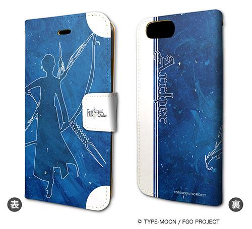 手帳型スマホケース(iPhone7専用)「Fate/Grand Order」24/アーチャー/アルジュナ