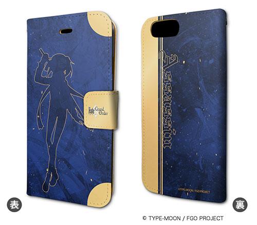 手帳型スマホケース(iPhone7専用)「Fate/Grand Order」29/アサシン/謎のヒロインX