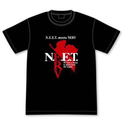自宅警備補完計画 N.E.E.T. ×NERVコラボマークTシャツ L[グルーヴガレージ]《06月予約※暫定》