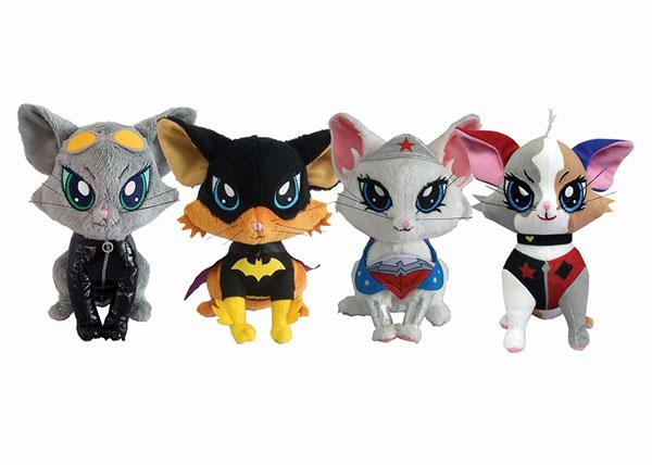 DCコミックス/ パウズプレイ プラッシュ キトゥン シリーズ1: 4種セット[Factory Entertainment]《在庫切れ》