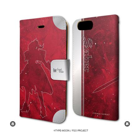 手帳型スマホケース(iPhone7専用)「Fate/Grand Order」22/セイバー/モードレッド
