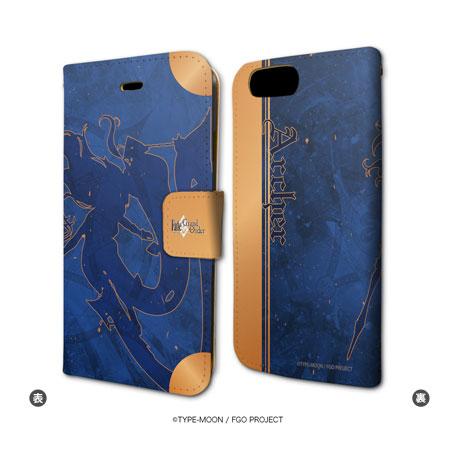 手帳型スマホケース(iPhone7専用)「Fate/Grand Order」33/アーチャー/イシュタル