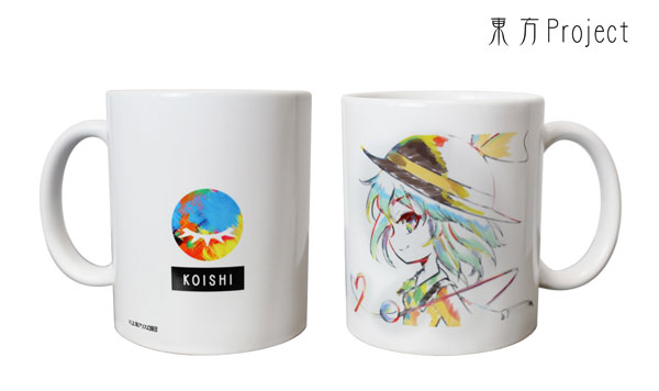 東方Project Ani-Artマグカップ(古明地こいし)[アルマビアンカ]《発売済・在庫品》
