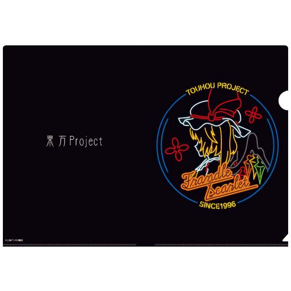 東方Project Ani-Neon クリアファイル(フランドール・スカーレット)(再販)[アルマビアンカ]《在庫切れ》