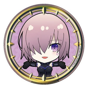 Fate/Grand Order きゃらみゅ パール紙缶バッジ シールダー/マシュ・キリエライト[PROOF]《発売済・在庫品》