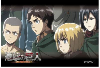 進撃の巨人 Season 2 スクエアマグネット C アニメ・キャラクターグッズ新作情報・予約開始速報