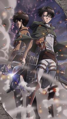 進撃の巨人 マルチタペストリーのれん アニメ・キャラクターグッズ新作情報・予約開始速報