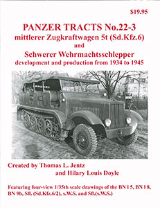 mittlerer Zugkraftwagen 5t,s.W.S.,and variants(書籍)(再販)[PANZER TRACTS]《取り寄せ※暫定》