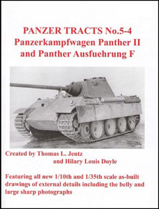 パンターII&パンターF型(書籍)(再販)[PANZER TRACTS]《在庫切れ》