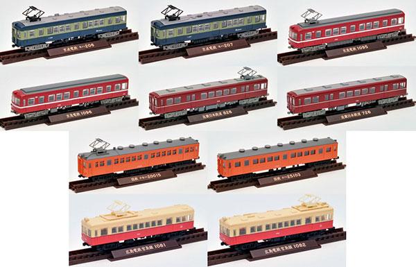鉄道コレクション第25弾 10個入りBOX[トミーテック]《取り寄せ※暫定》