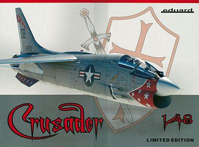 1/48 F-8Eクルセーダー 「リミテッドエディション」 プラモデル[エデュアルド]《在庫切れ》
