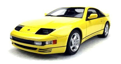 1/18 NISSAN 300 ZX (イエロー)[TOPMARQUES]【送料無料】《発売済・在庫品》