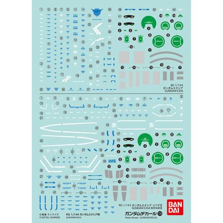 ガンダムデカール No.106 RG 1/144 ガンダムエクシア用[バンダイ]《発売済・在庫品》