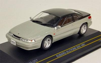 1/43 スバル アルシオーネ SVX 1991 シルバー[First43]《発売済・在庫品》
