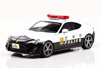 1/43 トヨタ 86 2014 警視庁広報イベント車両 (トミカ警察)[RAI'S]《在庫切れ》