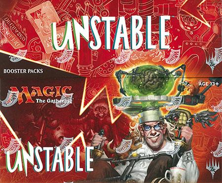 マジック:ザ・ギャザリング 英語版 Unstable ブースター 36パック入りBOX[Wizards of the Coast]《発売済・在庫品》