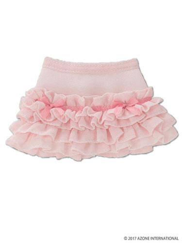KIKIPOP!用 きのこプラネット「シュガーフリルスカート」 ピンク (ドール用)[アゾン]《発売済・在庫品》
