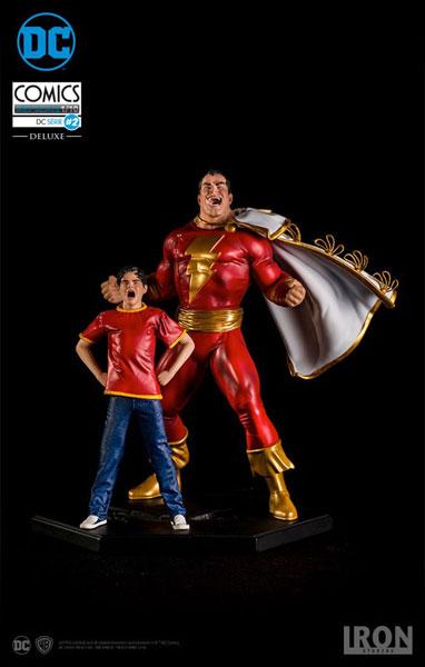DCコミックス/ シャザム&ビリー・バットソン 1/10 アートスケール スタチュー[アイアン・スタジオ]【送料無料】《発売済・在庫品》