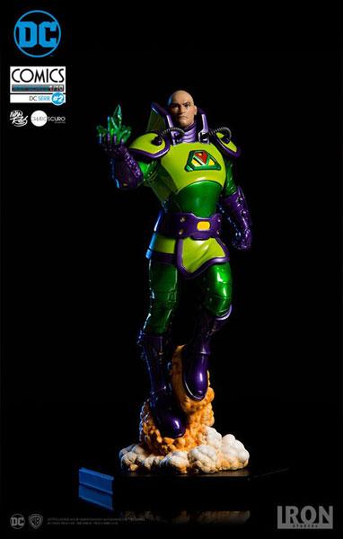 DCコミックス/ レックス・ルーサー 1/10 アートスケール スタチュー[アイアン・スタジオ]《取り寄せ※暫定》