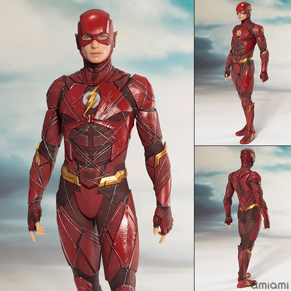 ARTFX+ JUSTICE LEAGUE フラッシュ 1/10 完成品フィギュア[コトブキヤ]《取り寄せ※暫定》
