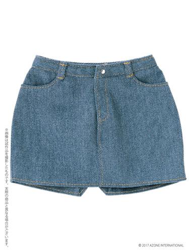 48cm/50cm用 AZO2タイトスカート ブルー (ドール用)[アゾン]《発売済・在庫品》