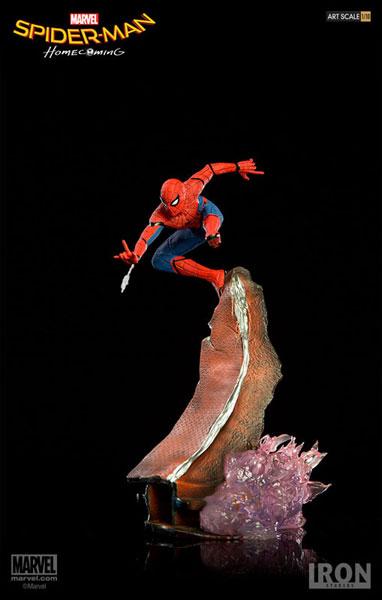 スパイダーマン ホームカミング/ スパイダーマン 1/10 バトルジオラマシリーズ アートスケール スタチュー[アイアン・スタジオ]《04月仮予約》