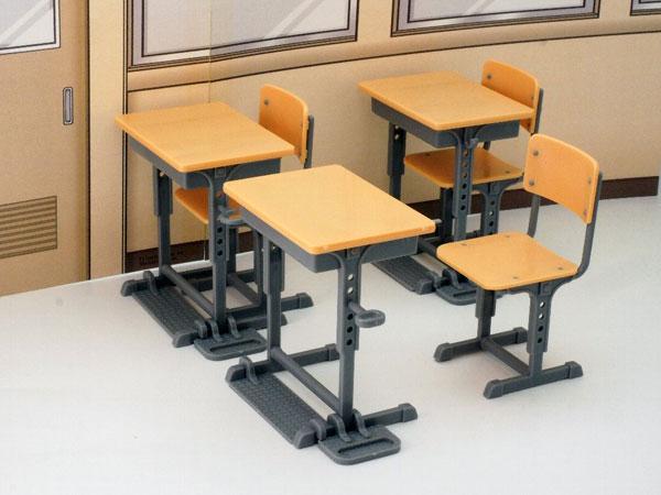 LittleArmory (LD013) Specified Defense School Desk(Pre-order)リトルアーモリー〈LD013〉指定防衛校の机Scale Figure