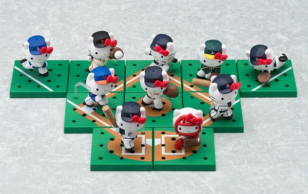 ねんどろいどぷらす メジャーリーグ・ベースボール/ハローキティ 10体セット[Your Event JAPAN]【送料無料】《発売済・在庫品》