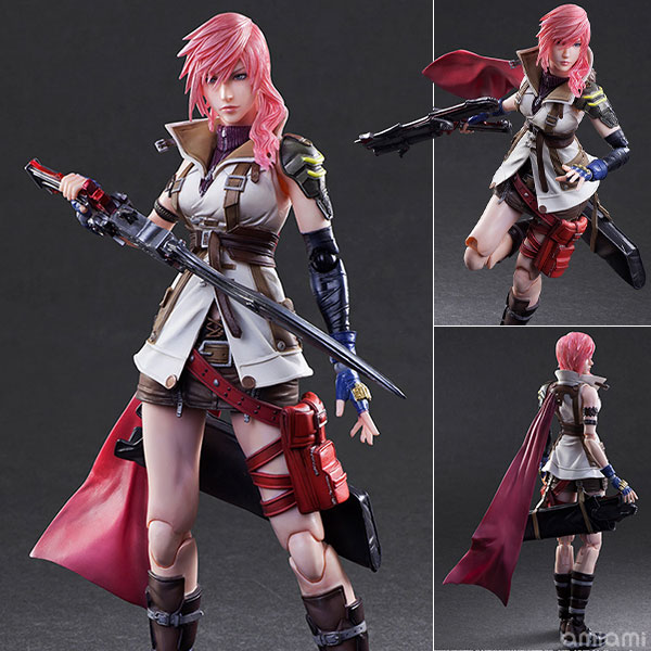 Play Arts Kai - DISSIDIA FINAL FANTASY: Lightning(Pre-order)プレイアーツ改 DISSIDIA FINAL FANTASY ライトニングScale Figure