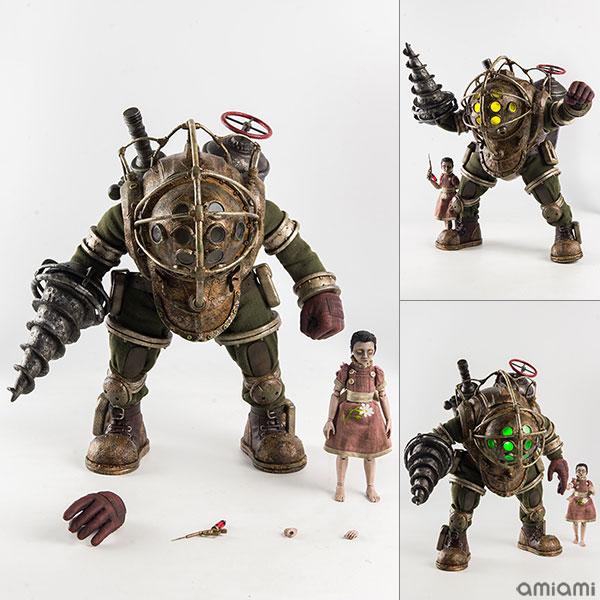 BioShock(バイオショック) 1/6 Big Daddy & Little Sister(1/6 ビッグダディ&リトルシスター) 可動フィギュア[スリー・ゼロ]【送料無料】《05月予約》