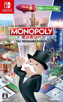 Nintendo Switch モノポリーfor Nintendo Switch[ユービーアイソフト]【送料無料】《発売済・在庫品》