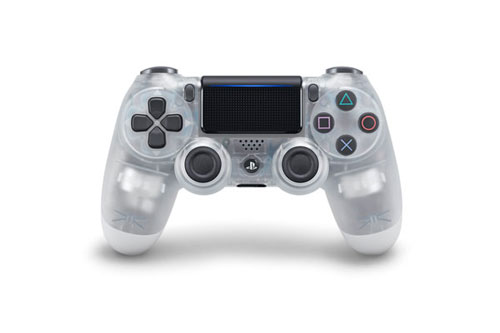 PS4用 ワイヤレスコントローラー(DUALSHOCK4) クリスタル[SIE]【送料無料】《在庫切れ》