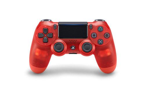 PS4用 ワイヤレスコントローラー(DUALSHOCK4) レッド・クリスタル[SIE]【送料無料】《発売済・在庫品》
