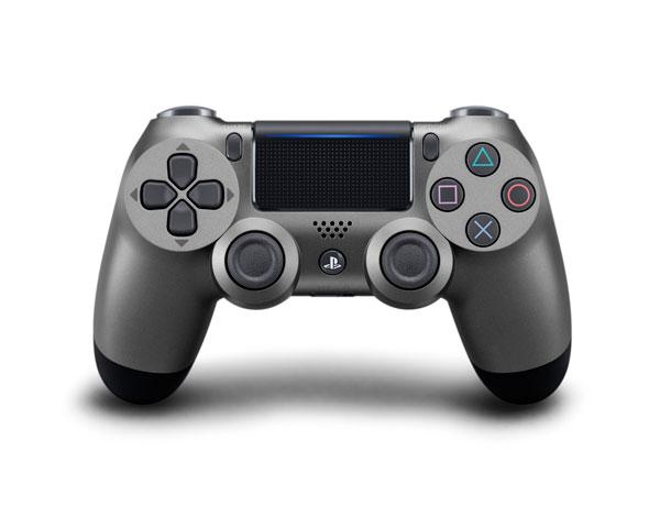 PS4用 ワイヤレスコントローラー(DUALSHOCK4) スチール・ブラック[SIE]【送料無料】《11月予約》
