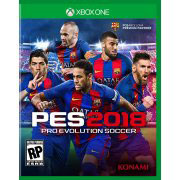 Xbox One 北米版 Pro Evo Soccer 2018[コナミ]《在庫切れ》
