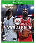 Xbox One 北米版 NBA Live 18[EA Sports]《在庫切れ》