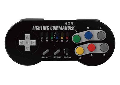 ファイティングコマンダー for ニンテンドークラシックミニ スーパーファミコン[ホリ]《在庫切れ》