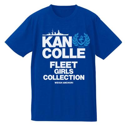 艦隊これくしょん -艦これ- 提督専用ドライTシャツ/COBALT BLUE-L(再販)[コスパ]《06月予約》