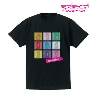 ラブライブ!サンシャイン!! シルエットモノグラムTシャツ(ブラック)(サイズ/S)(再販)[アルマビアンカ]《在庫切れ》