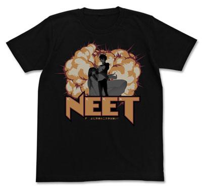 ノーゲーム・ノーライフ 『 』(くうはく)に労働の二文字は無い!Tシャツ/BLACK-M[コスパ]《09月予約》