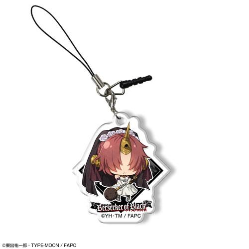 「Fate/Apocrypha」アクリルイヤホンジャックアクセサリー デザイン07(黒のバーサーカー)[ライセンスエージェント]《08月予約》