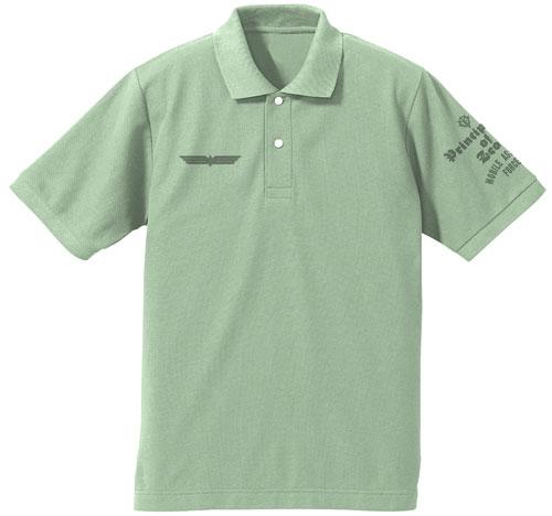 機動戦士ガンダム0080 ポケットの中の戦争 サイクロプス隊ポロシャツ/SAGE GREEN-L[コスパ]《08月予約》