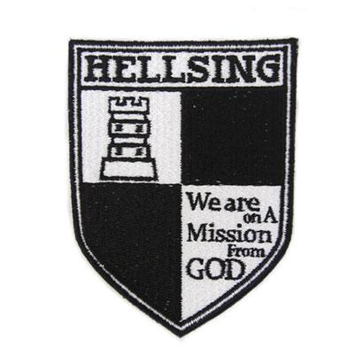 HELLSING ヘルシング脱着式ワッペン[コスパ]《09月予約》