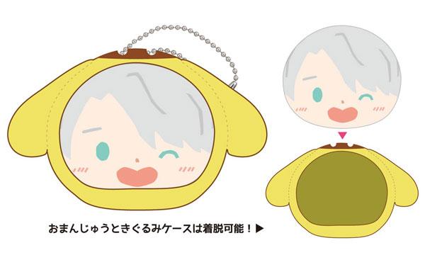 ユーリ!!! on ICE×サンリオキャラクターズ おまんじゅうにぎにぎマスコット(2)ヴィクトル&ポムポムプリン[エンスカイ]《発売済・在庫品》