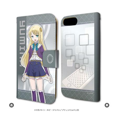 手帳型スマホケース(iPhone6/6s/7兼用)「異世界はスマートフォンとともに。」01/ユミナ・エルネア・ベルファスト[A3]《在庫切れ》