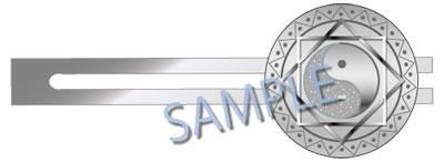 波天宮『東方Project』ネクタイピン 霊符「陰陽印」~博麗霊夢~[サーファーズパラダイス]《発売済・在庫品》