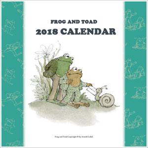 がまくんとかえるくん 2018年カレンダー[エンスカイ]《取り寄せ※暫定》