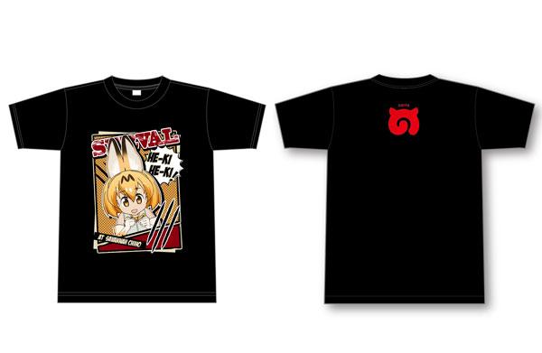 けものフレンズ/セリフデザインTシャツ (サーバル) M[セブンツー]《10月予約》