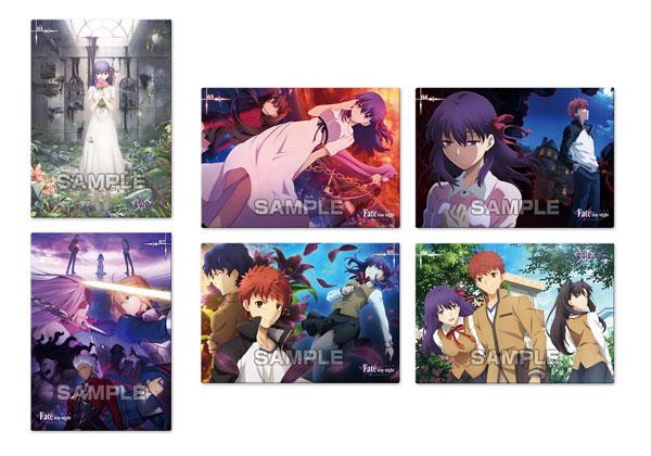 劇場版「Fate/stay night[Heaven's Feel]」 ビジュアルカードコレクションガム 20個入りBOX (食玩)[エンスカイ]《10月予約》