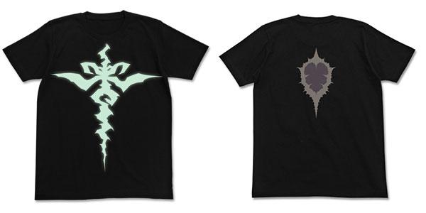Fate/Apocrypha 黒のセイバー 紋様Tシャツ/BLACK-M(再販)[コスパ]《07月予約》